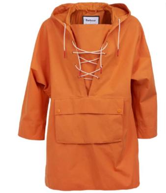 Veste waterproof, Barbourx Alexa Chung Esprit de la vareuse et couleur typique des vêtements utilitaires, DR