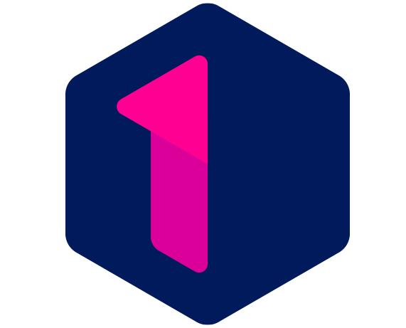 Het nieuwe logo van Eén, Eén