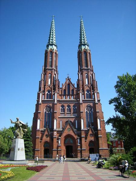La cathédrale Saint-Florian, Smok Wawelski/Flickr