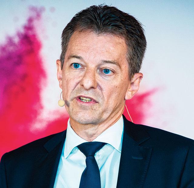 Johan Thijs, CEO de KBC Groupe, Dann