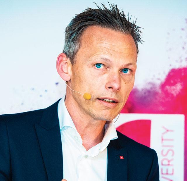 "Olivier Onclin, ""head of retail & commercial banking"" de Belfius, Dann"