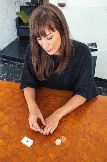 Tess De Meerleer in haar atelier, Yente Paesmans