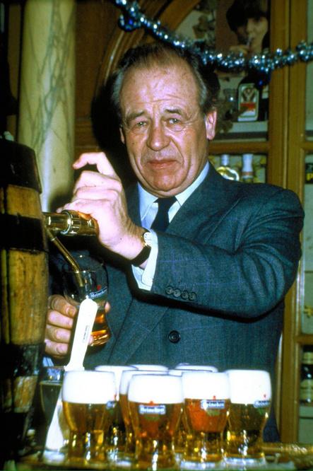 Freddy Heineken, héritier de l'empire de la bière néerlandais, Belga Images