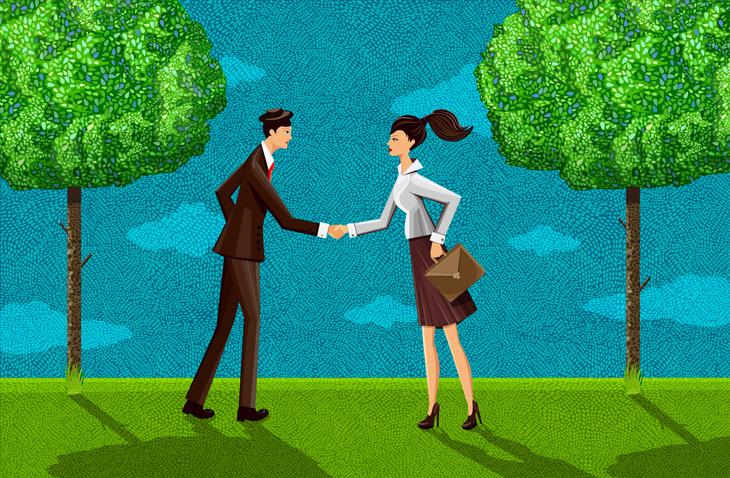 Hoe kies je een partner, een nieuwe vriend of een favoriete collega?, Getty