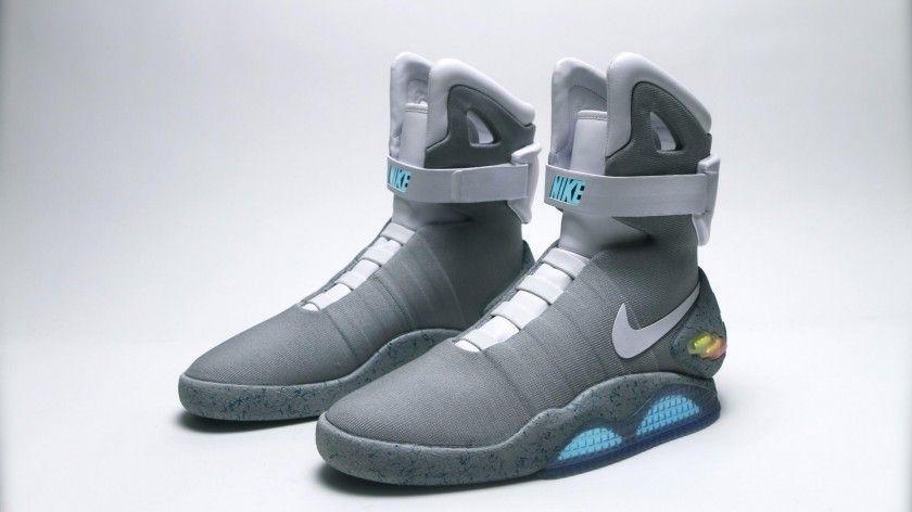 Les MAG, baskets auto-laçantes sorties par Nike en 2011, DR