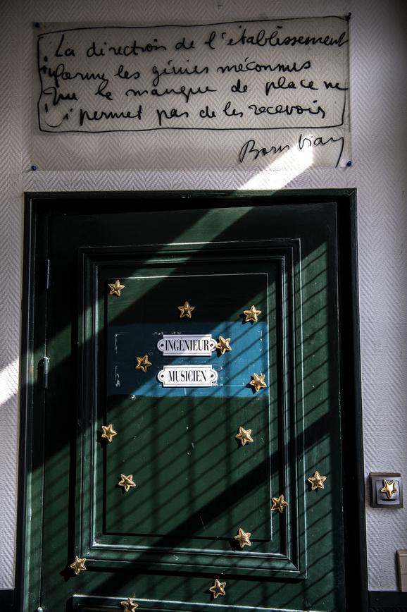 L'appartement de Boris Vian, rue Veron à Paris, AFP