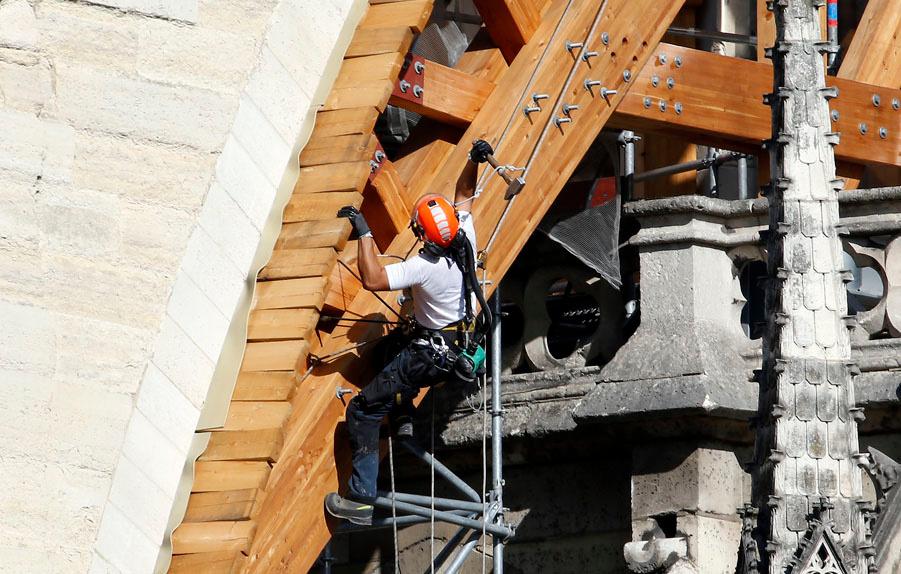 Notre Dame, après l'incendie, Getty Images