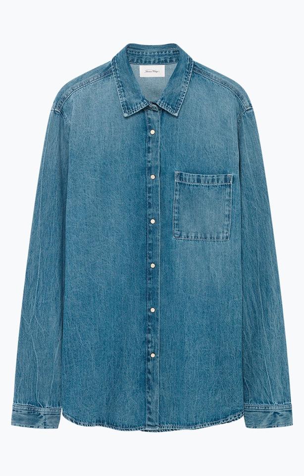 Chemise en jeans, American Vintage, 95 euros, DR