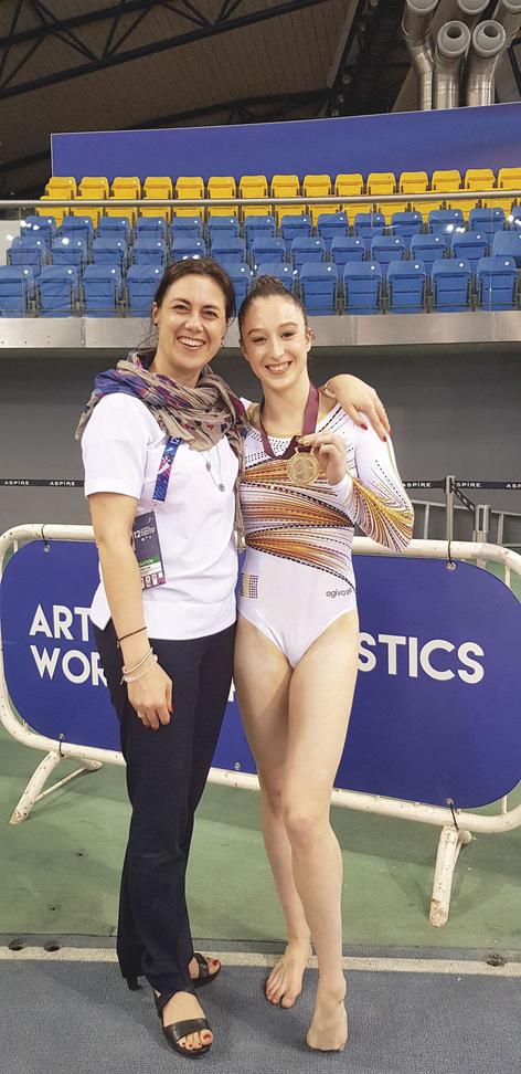 Valerie Van Cauwenberghe en Nina Derwael, getty