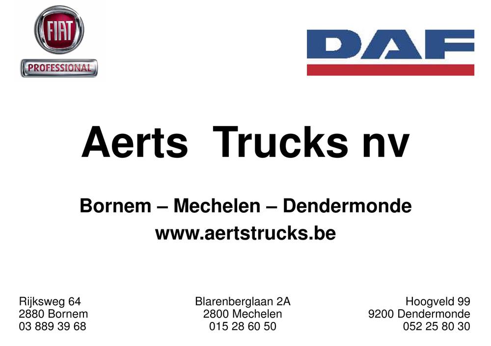 AERTS TRUCKS NV / GARAGE H. AERTS BV/ DTTS BV