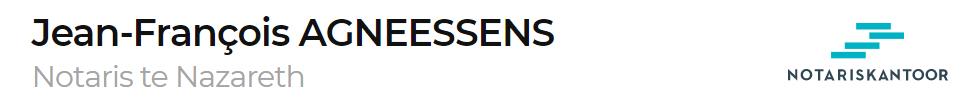 AGNEESSENS JEAN-FRANCOIS NOT.
